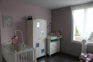 2ème chambre côté jardin. 10,87 m²